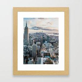 New York City 02 Framed Art Print