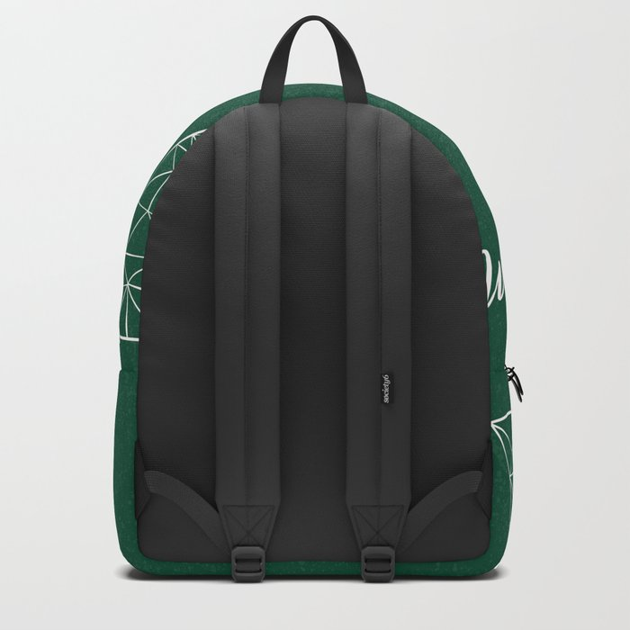 Merry Christmas Green Backpack