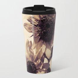 Post card Sunflowers Travel Mug