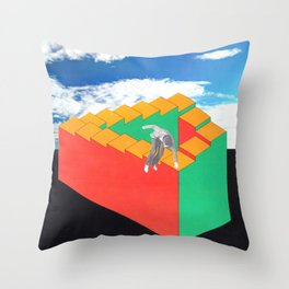 bugger this for a game of soldiers Throw Pillow