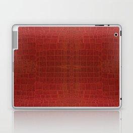 CrocLeather Red Laptop & iPad Skin