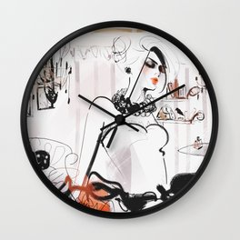 Modern Princess Wall Clock
