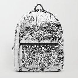 Anatomy Series: Skin Flowers Backpack