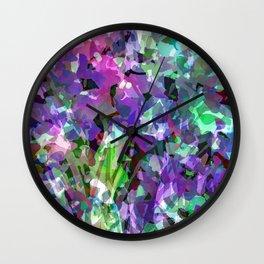 Jewel Box Jungle Wall Clock