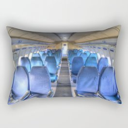 Russian Airliner Seating Rectangular Pillow