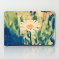 rileigh smirl iPad Cases featuring Daisy by Rileigh Smirl