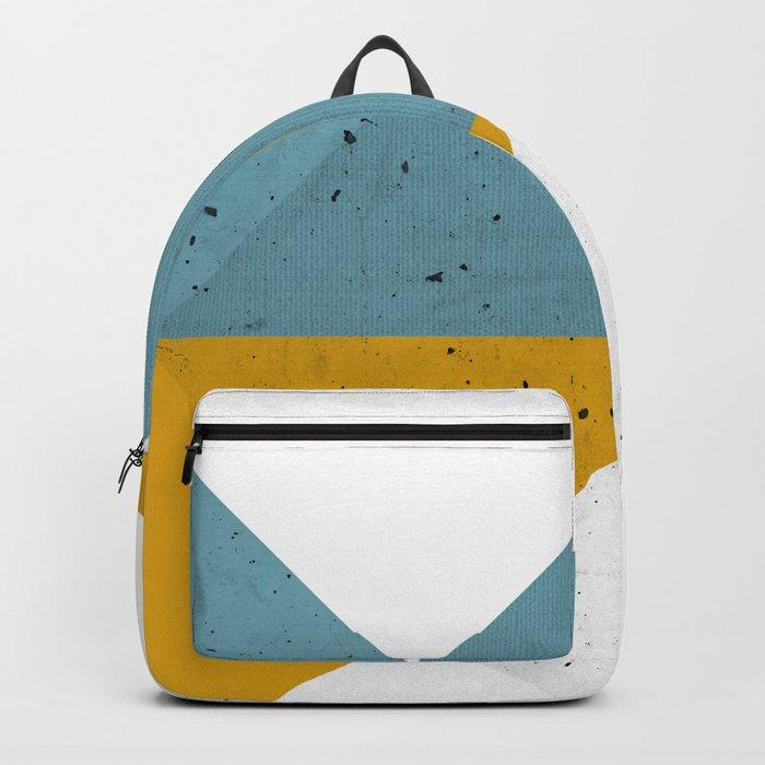 Modern Geometric 19 Backpack