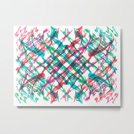 Stretched Sweets Metal Print