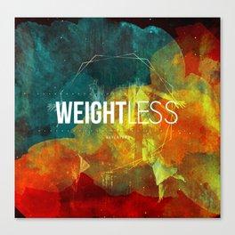 WAYLAYERS // WEIGHTLESS Canvas Print