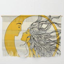 Sun and Moon Wall Hanging