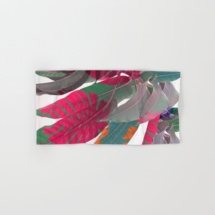 Tropical abstract(5) Hand & Bath Towel