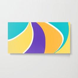 Retro colours Metal Print