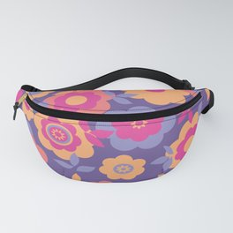 Eilin's Spring Flowers 12 Fanny Pack