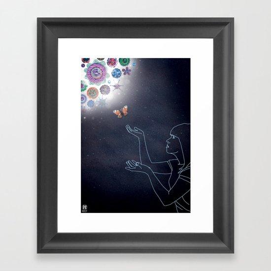 Luna Series - Hope Framed Art Print