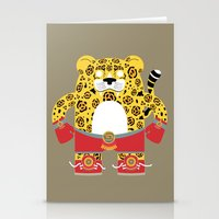 jaguar Stationery Cards featuring Jaguar by EinarOux