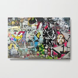 All over It Metal Print
