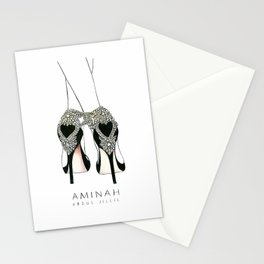 Diemond shoes Stationery Cards