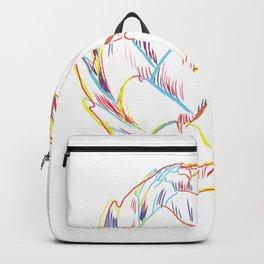 Artichoke Strokes Backpack