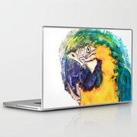 parrot Laptop & iPad Skins featuring Parrot by jbjart