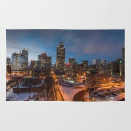 Montreal By Night Rug