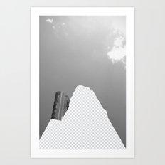 Vacant Architecture Art Print