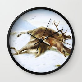 Archibald Thorburn - Not for the larder - Digital Remastered Edition Wall Clock