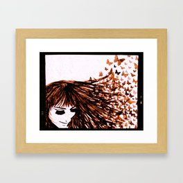 You Give Me Butterflies #2 Framed Art Print