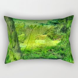 Temperate Jungle Home Rectangular Pillow