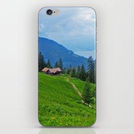 Above Interlaken iPhone Skin