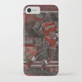 M Jordan iPhone Case