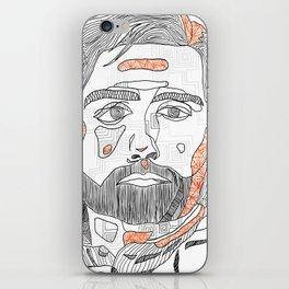 poe dameron - abstract iPhone Skin
