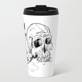 Skull Abuse  Travel Mug