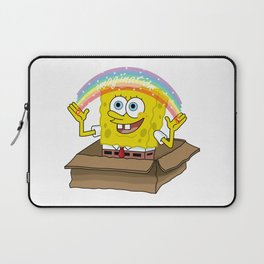 spongebob squarepants imagination Laptop Sleeve