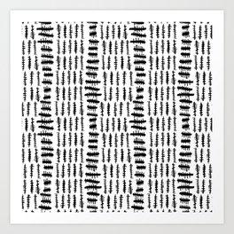 Modern Mud Cloth Collection #2 Art Print