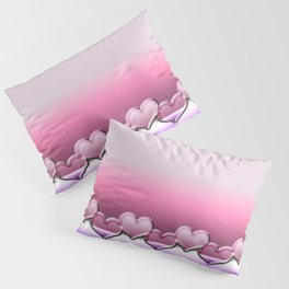 Heart lenses pattern Pillow Sham