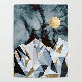 Midnight Peaks Poster