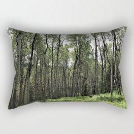 Among the Trees Rectangular Pillow