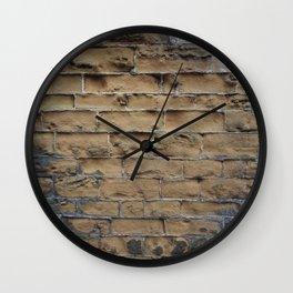 Sandstone Bricks Wall Clock