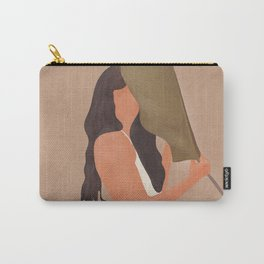 Shade of a Leaf Carry-All Pouch