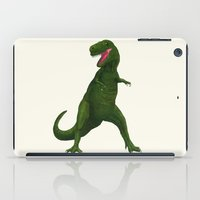 t rex iPad Cases featuring T Rex by Lydia Meiying