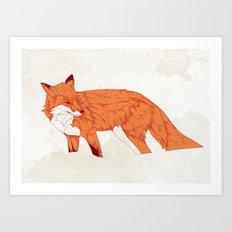 Vulpes Art Print