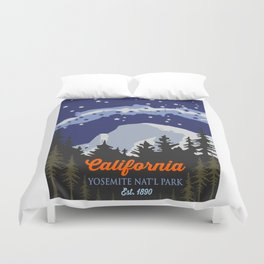 Yosemite. Duvet Cover