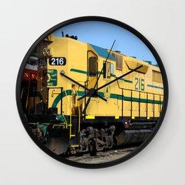 Engine 216 - The Yellow Bird Wall Clock