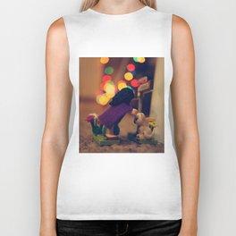 The Girl in the Purple Cloak Biker Tank