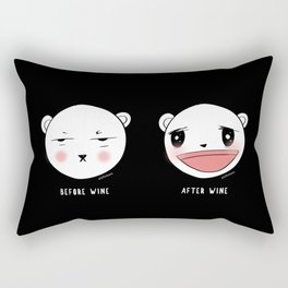 Me After Coffee & Wine Rectangular Pillow