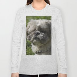 shih tzu  dog Long Sleeve T-shirt