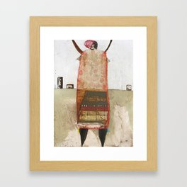 Where Credit is Due Again Framed Art Print