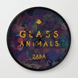 Zaba - Glass Animals Wall Clock