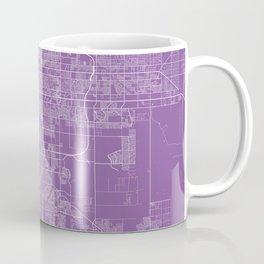 mesa map lilac Coffee Mug