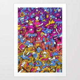 Doctor Edge Art Print